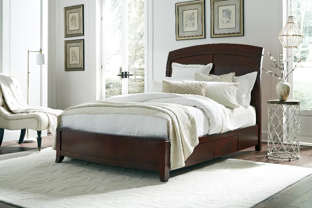 Modus Furniture Storage Bed Queen Wood Photo