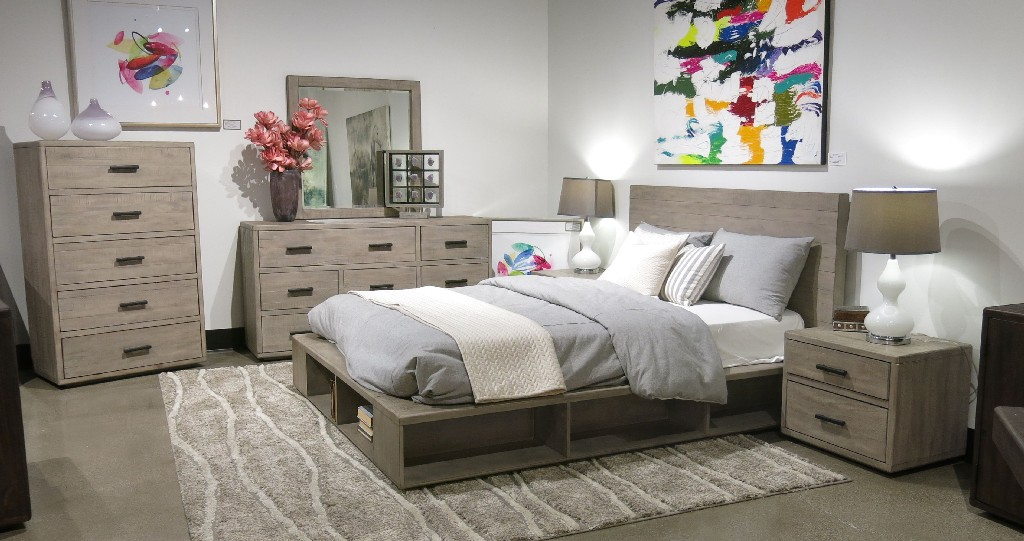 Modus Storage Bed Wood