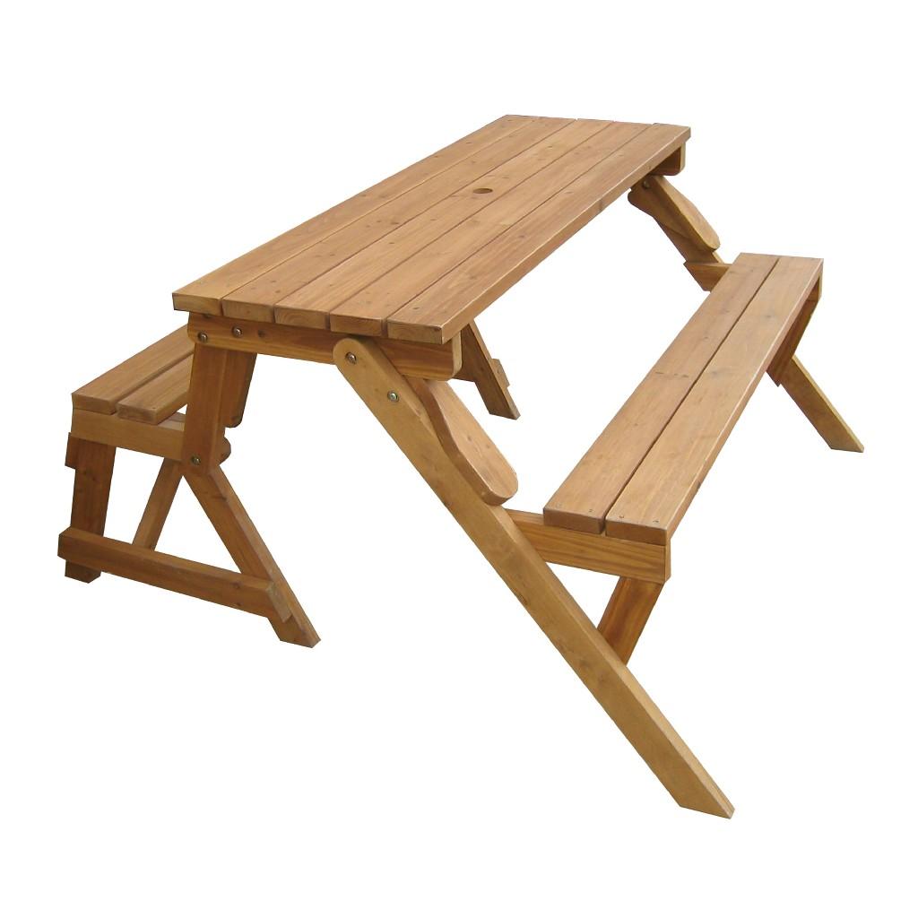 Interchangeable Picnic Table / Garden Bench - Northbeam MPG -ACT04