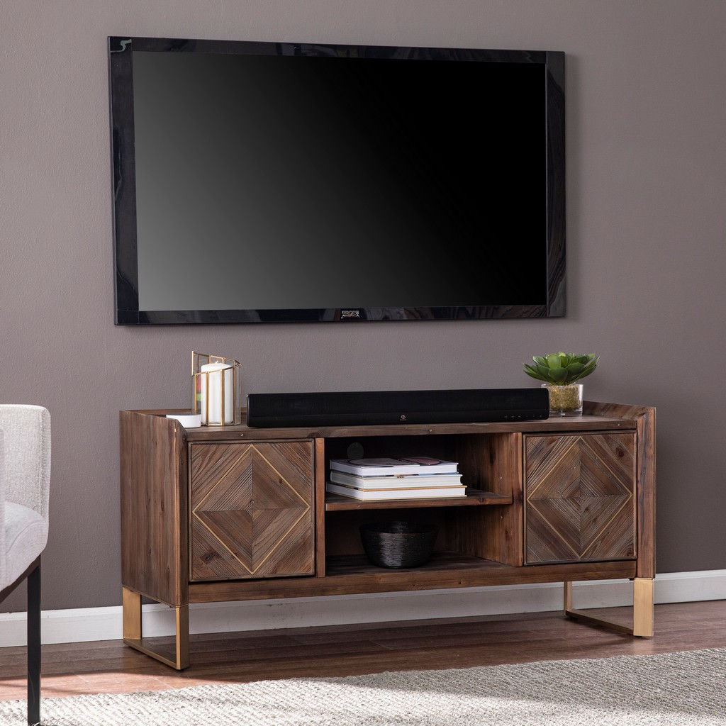 Astorland Reclaimed Wood Media Console - Southern Enterprises MS1093113