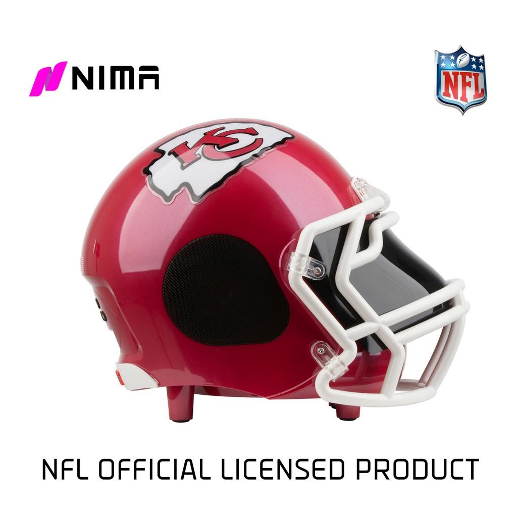 NIMA Bluetooth Helmet Speaker - NFL Kansas City Chiefs - Small - NMCHIEFS.S