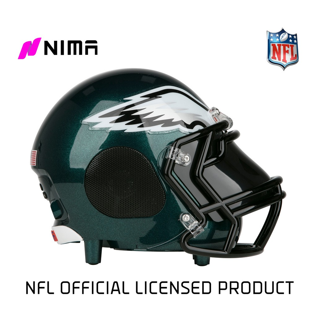 NIMA Bluetooth Helmet Speaker - NFL Philadelphia Eagles - Small - NMEAGLES.S