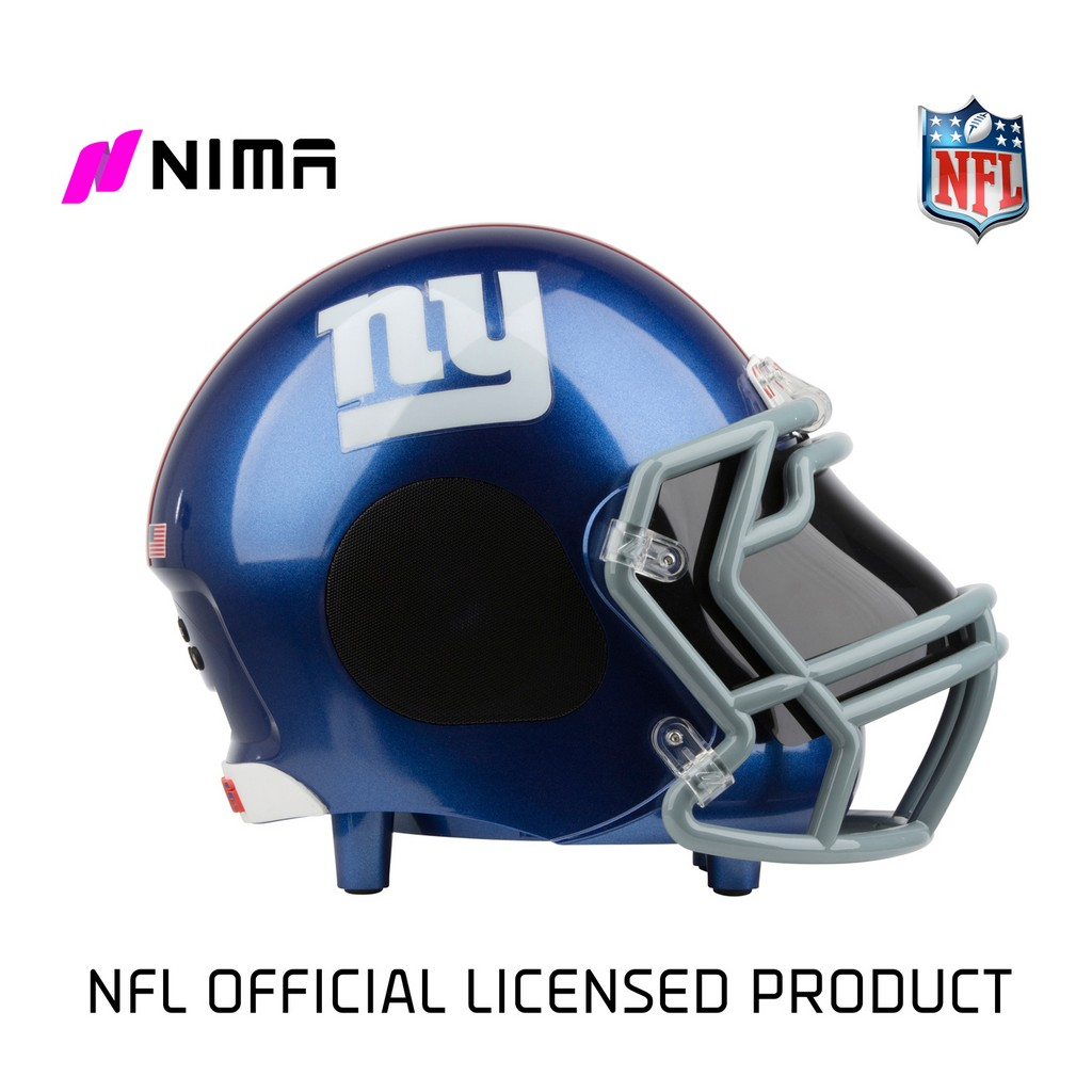 NIMA Bluetooth Helmet Speaker - NFL New York Giants - Small - NMGIANTS.S