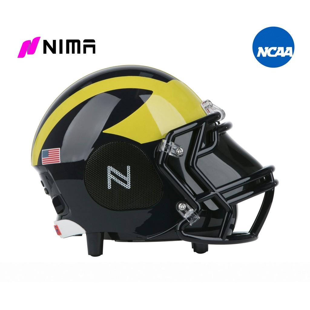 NIMA Bluetooth Helmet Speaker - NCAA Michigan Wolverines - Small - NMMWOLVERINES.S
