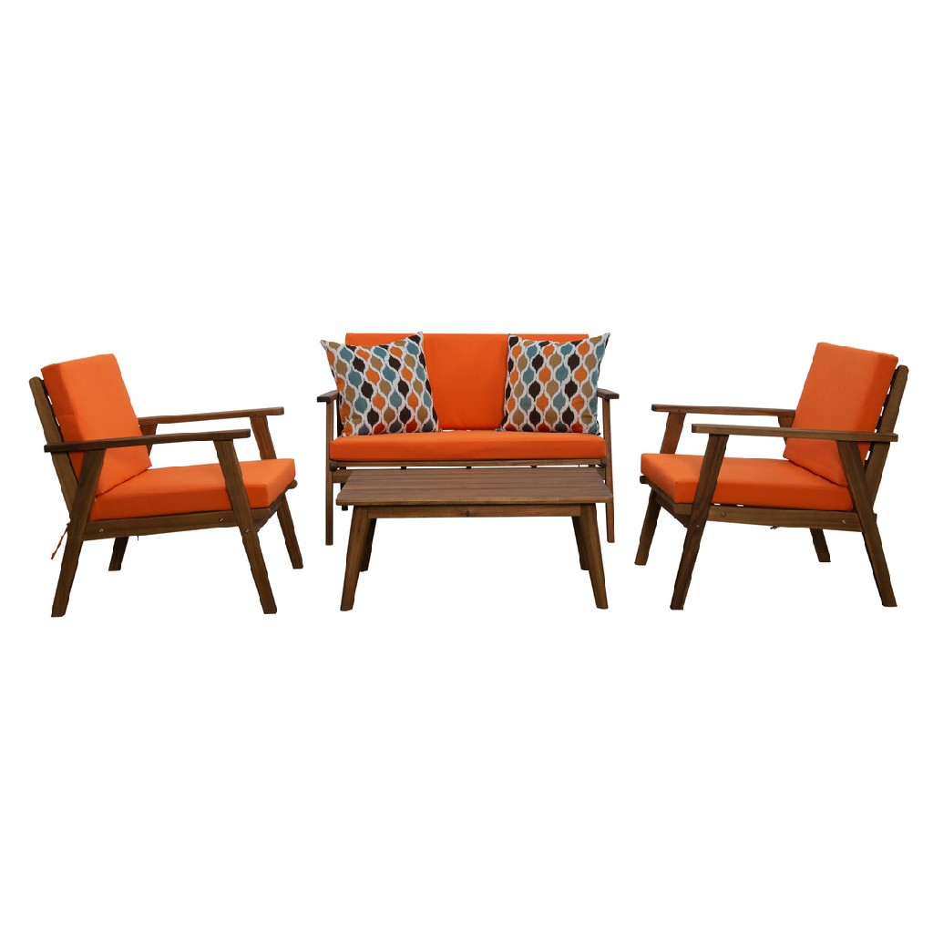 Linon Home Decor Outdoor Chat Set