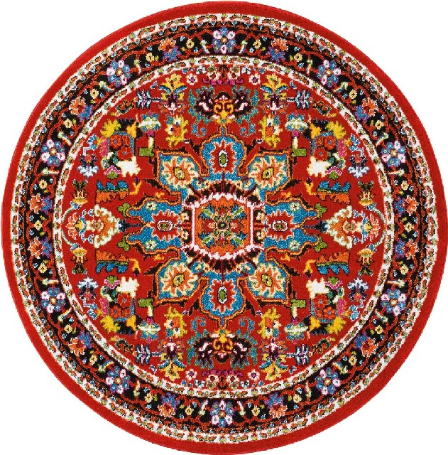 Area   Rug   Red