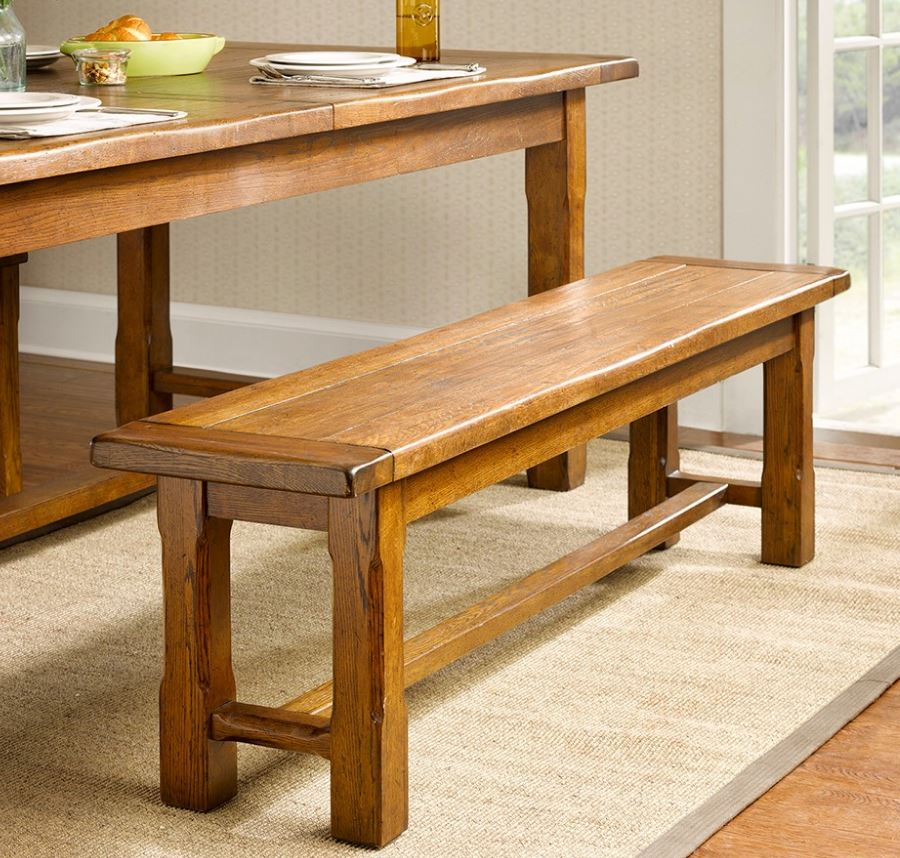 Harbor House Lauren Dining Bench Brown