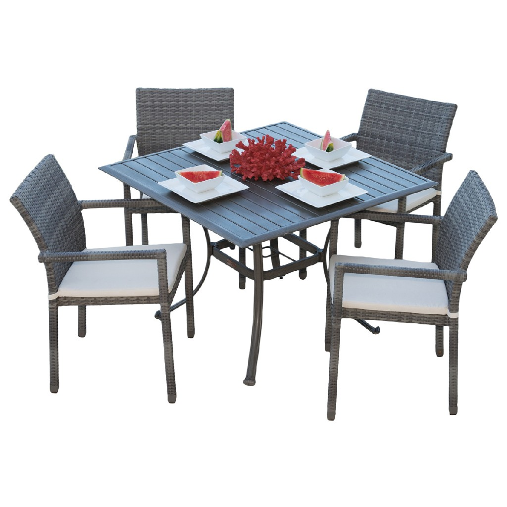 Panama Jack Furniture Armchair Dining Set Photo
