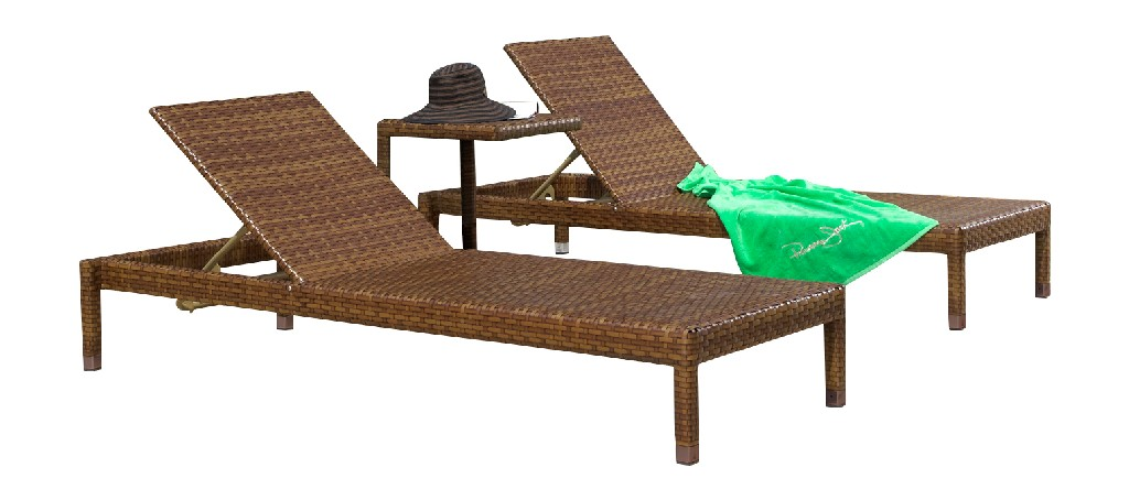 Panama Jack 3 PC St Barths Chaise Lounge Set with Cushions