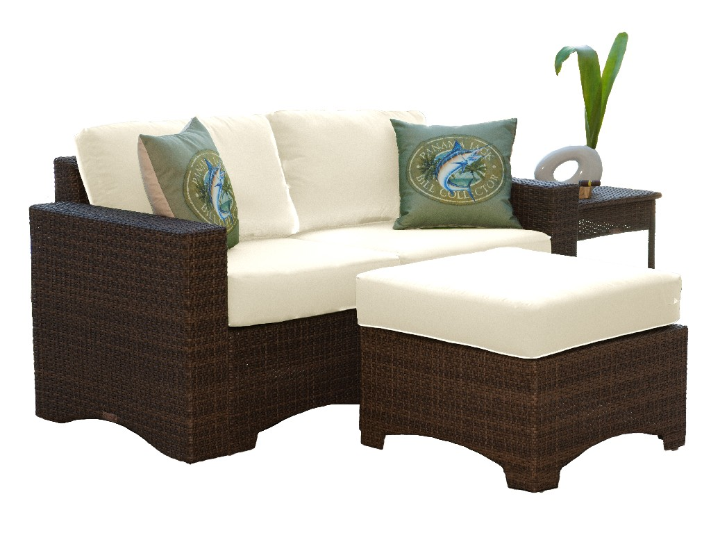 Panama Jack 4 PC Loveseat Set with Cushions