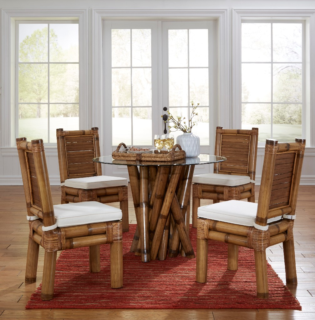 Panama Jack Bamboo Dining Set