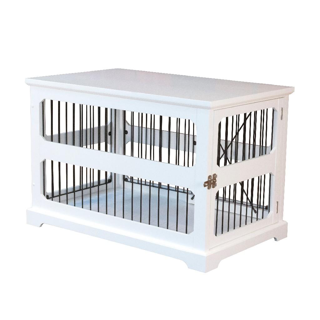 Slide Aside Crate & End Table, White, Medium - Zoovilla PTH0641720110