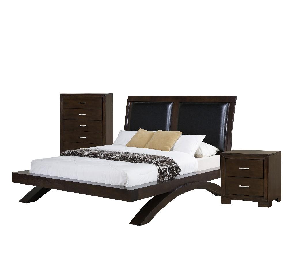 Picket House Zoe Queen Platform Upholstered Headboard Bedroom Set