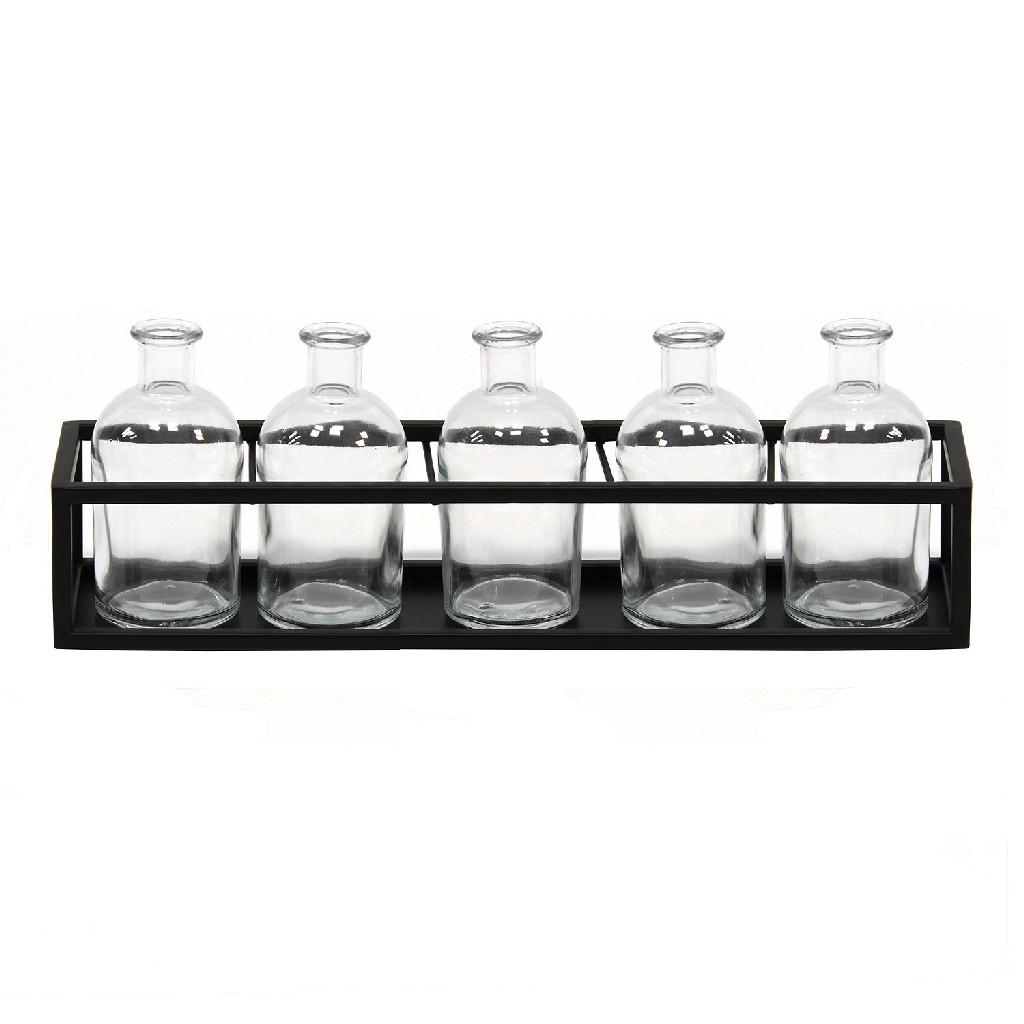 6 Piece Glass Vase Set - Stratton Home Decor S16083