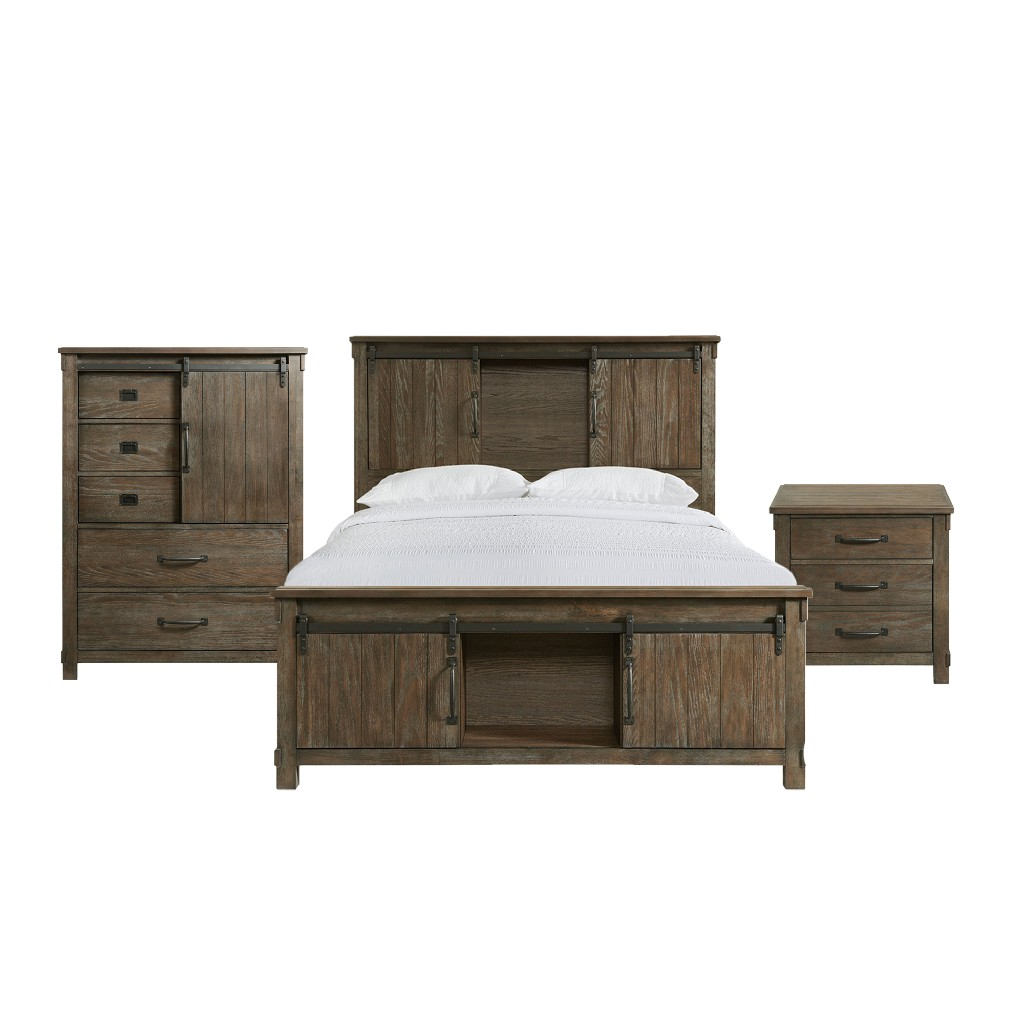 Picket House Queen Platform Storage Bedroom Set