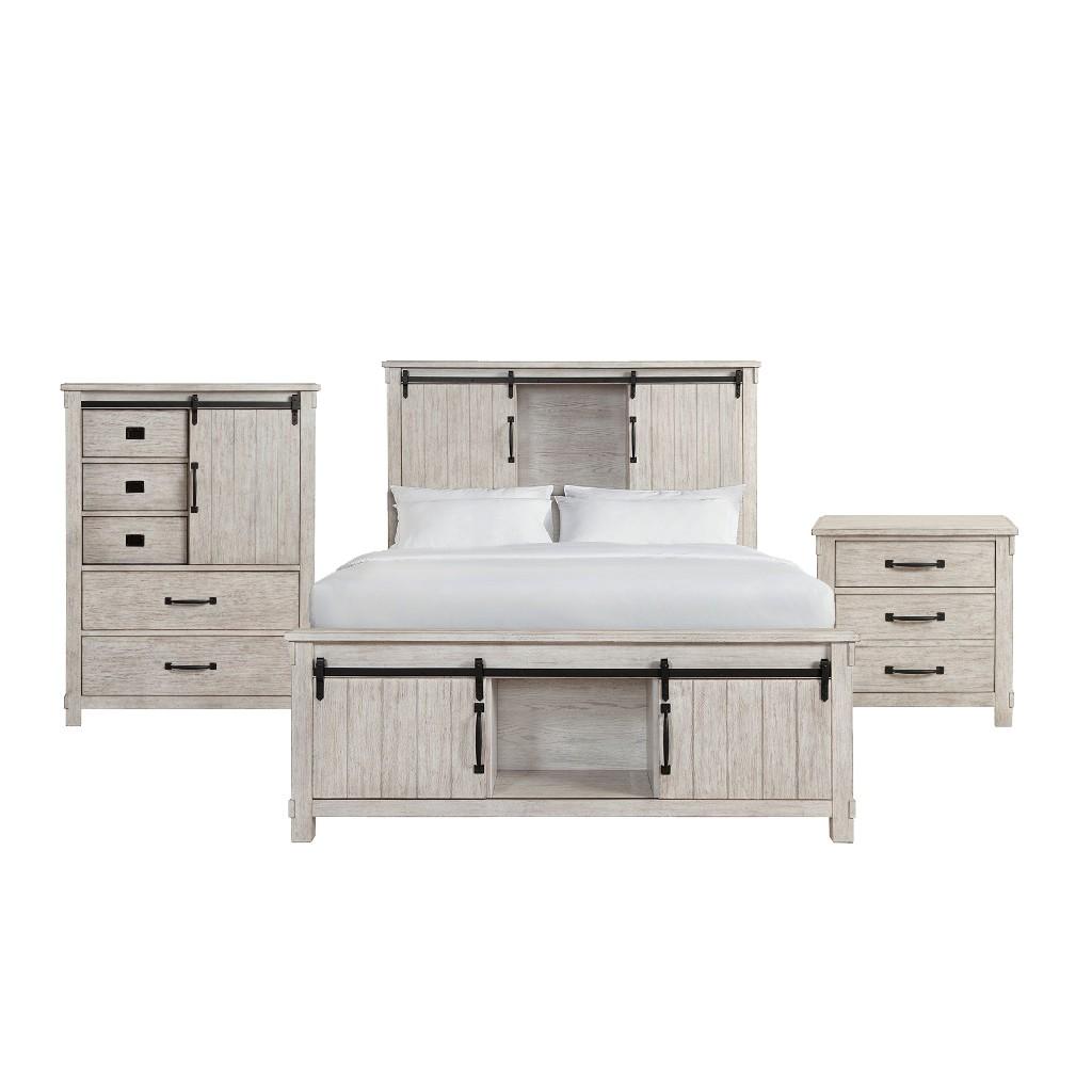 King Platform Storage Bedroom Set