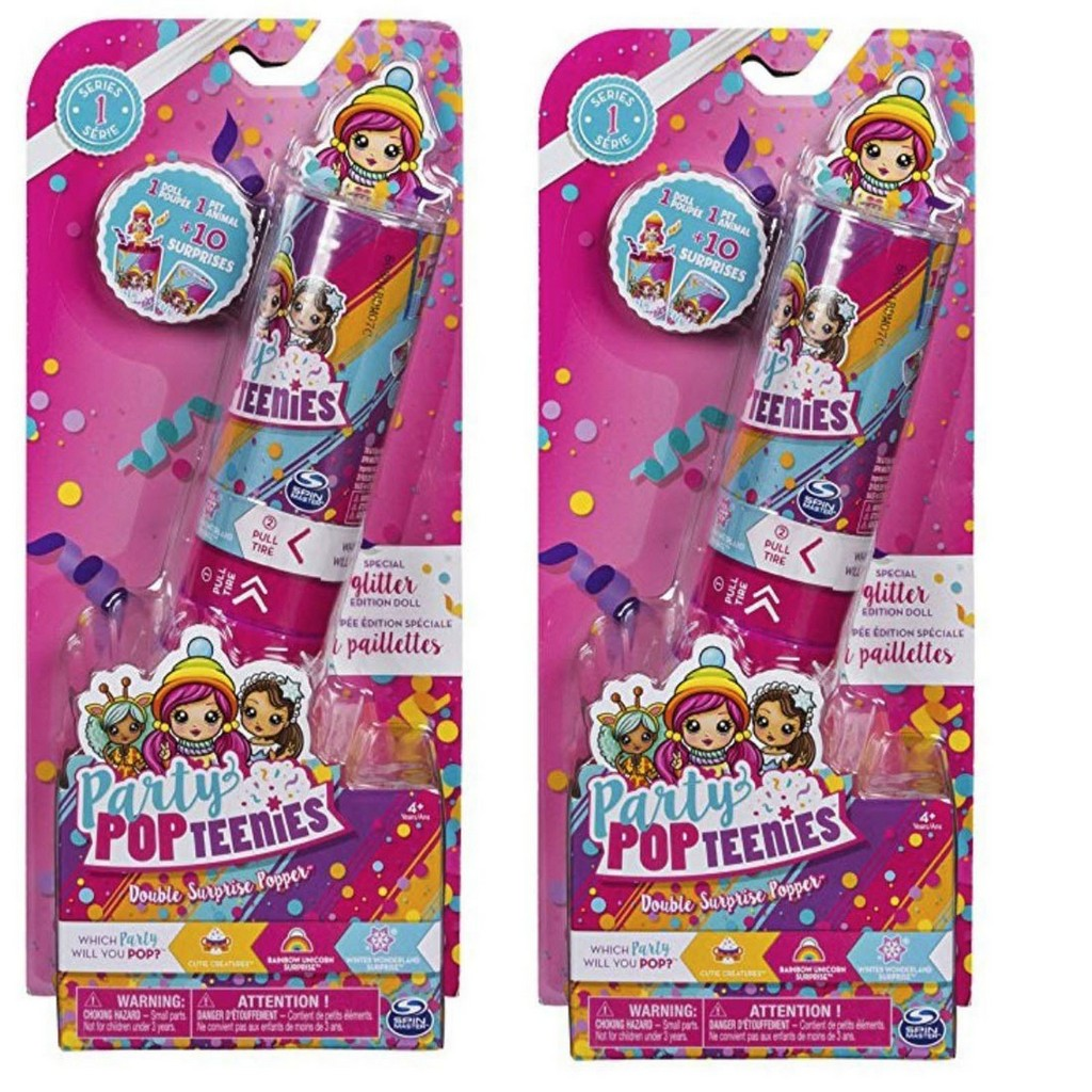 Spin Master Party Pop Girls Double Popper Assorted - SM6044092