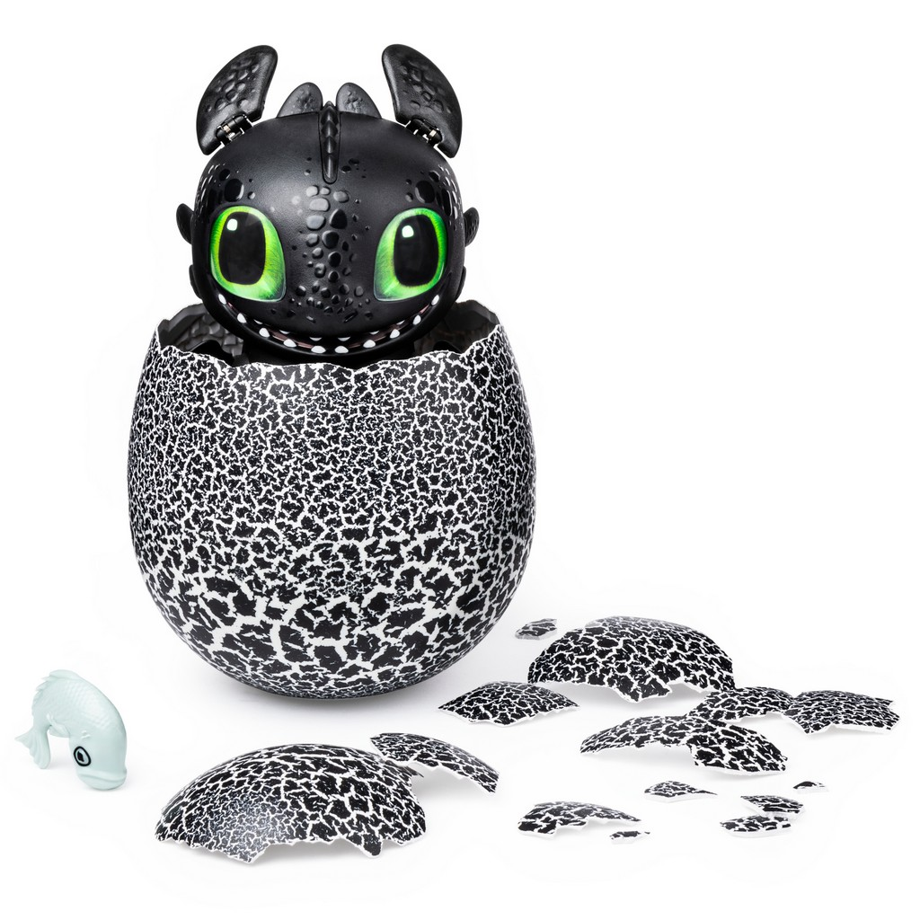 DreamWorks Dragons Hatching Toothless Interactive Baby Dragon - SM6046182