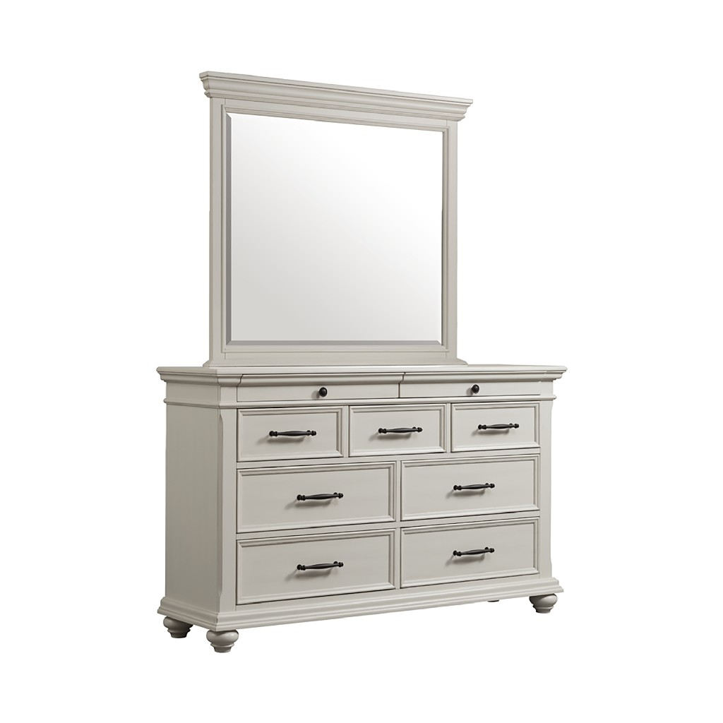 Picket House Dresser Mirror Drawer