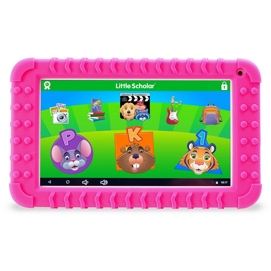 "School Zone Little Scholar Mini 7"" Tablet with Pink Bumper - SZ08612"