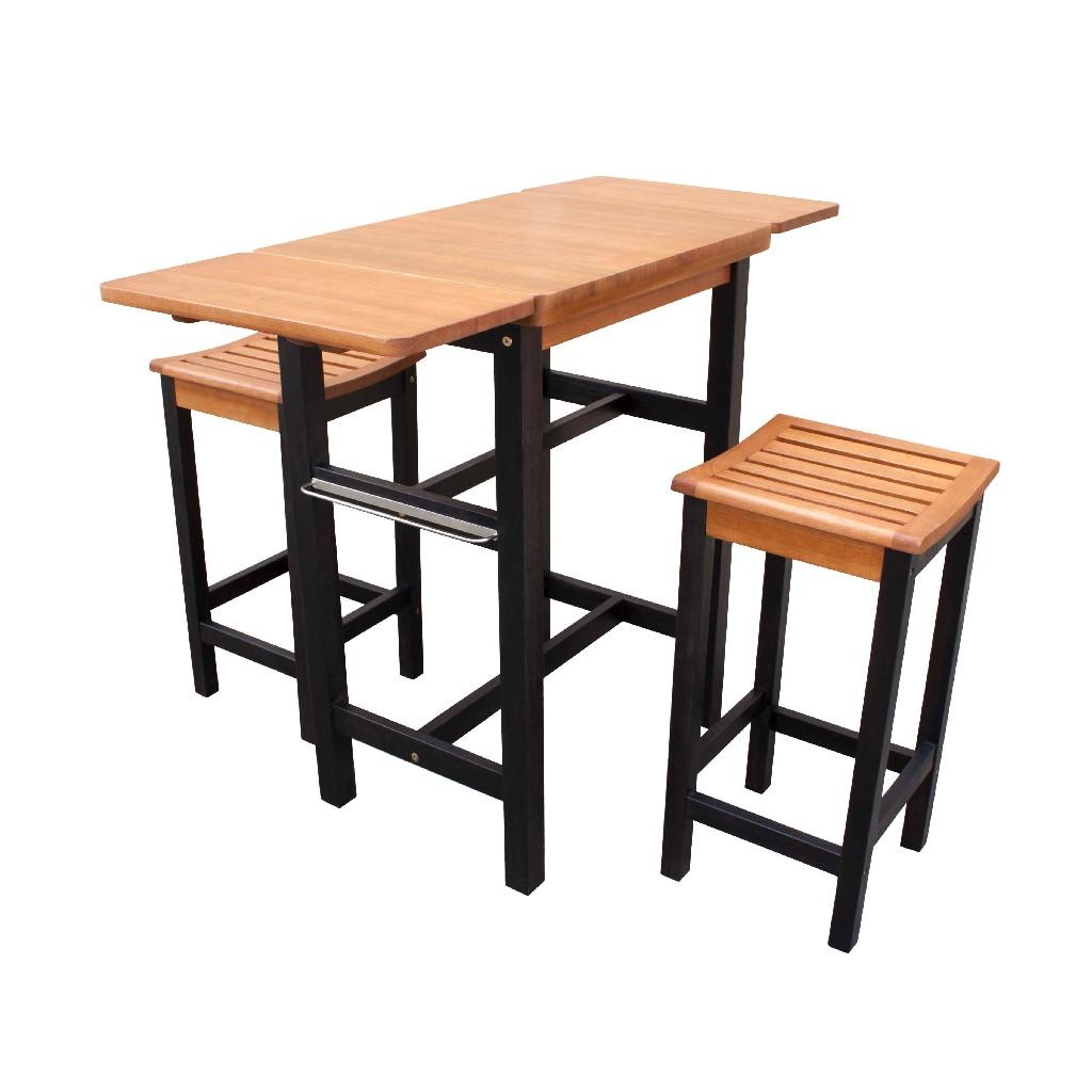 Kitchen Island Table Two Stool Set - Northbeam TBS0330213300
