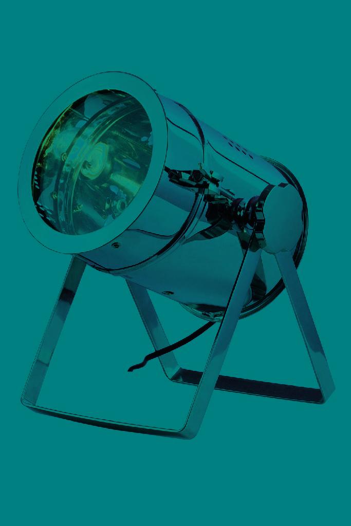 Elegant   Chrome   Table   Light   Lamp