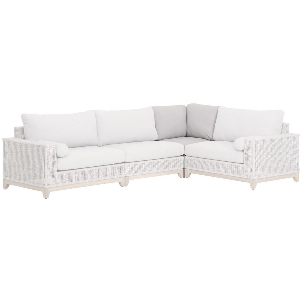 Woven Tropez Outdoor Modular Corner Sofa