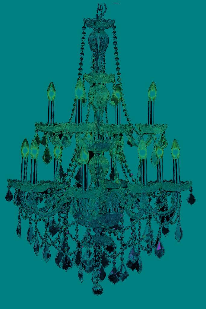 Elegant Lighting Giselle Light Chrome Chandelier Clear Royal Cut Crystal