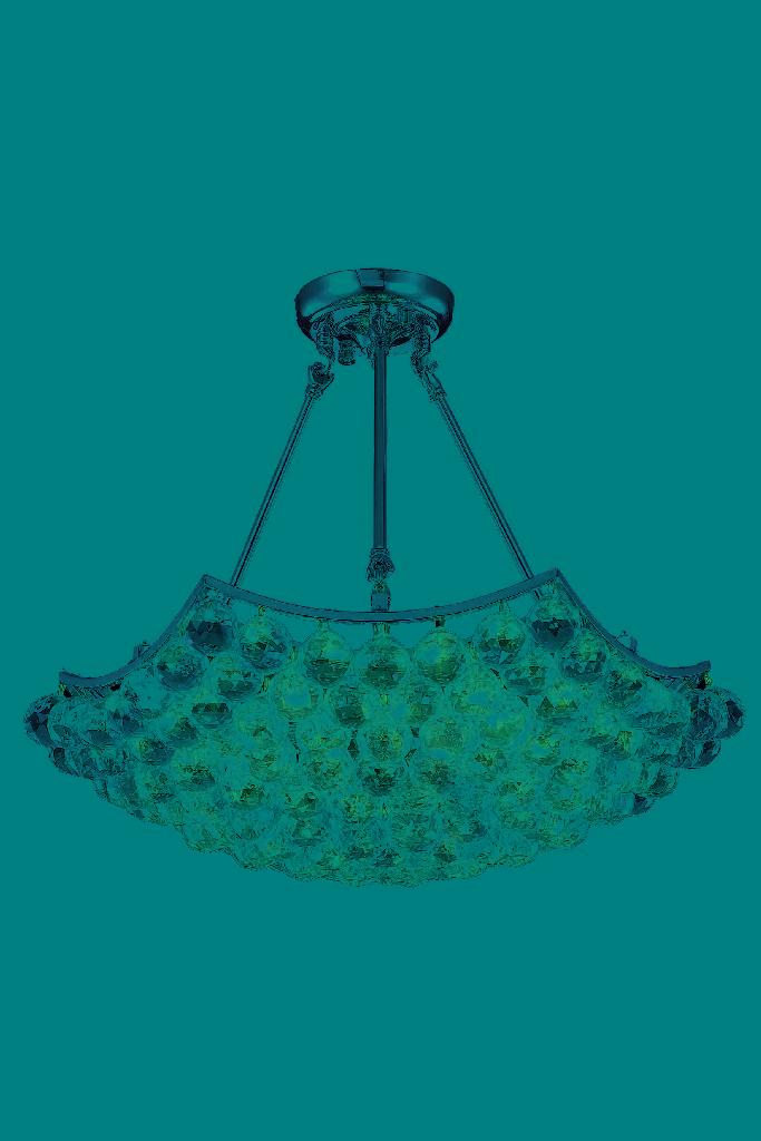 Chandelier | Elegant | Crystal | Corona | Chrome | Clear | Light | Cut