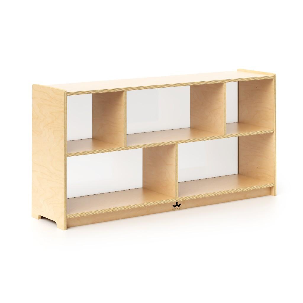 """24"""" Storage Cabinet Acrylic Back - Whitney Brothers WB1791"""