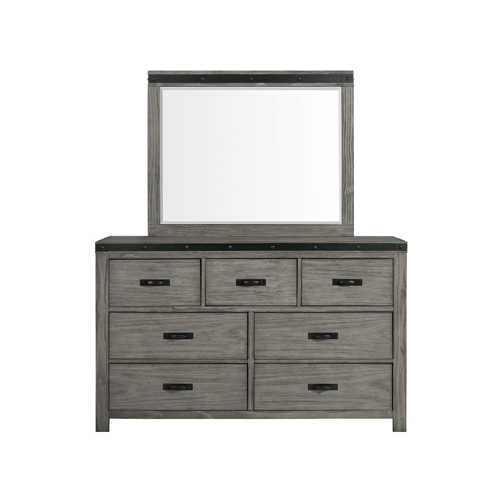 Picket House Montauk Drawer Dresser Mirror Set