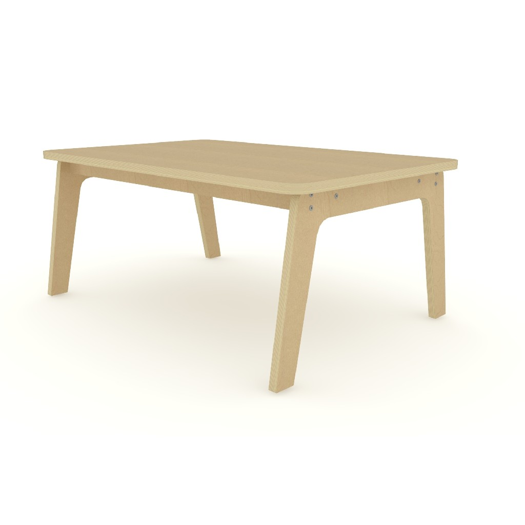 """30"""" X 47"""" Maple Rectangle Table 18"""" High - Whitney Brothers WR304718M"""
