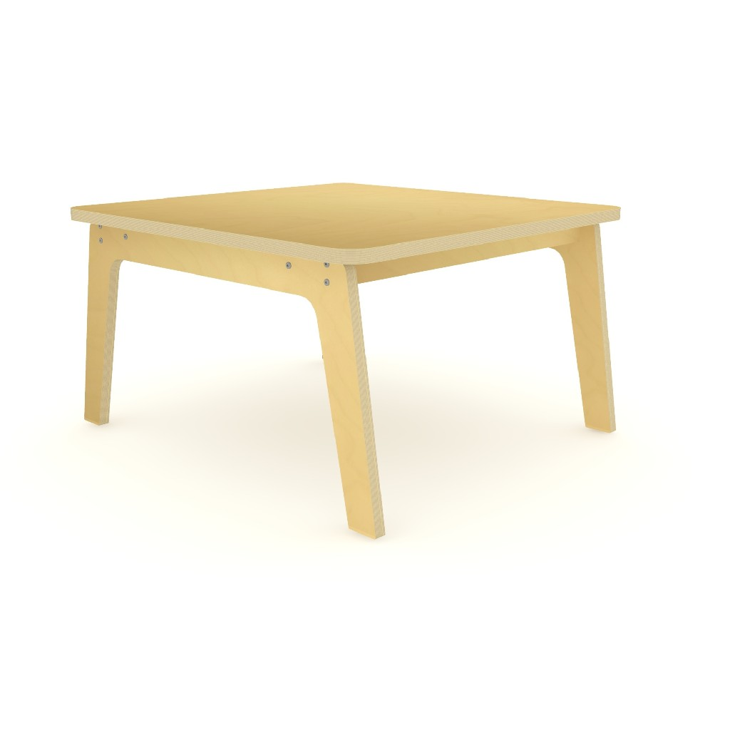 """35"""" Square Maple Table 20"""" High - Whitney Brothers WS3520M"""