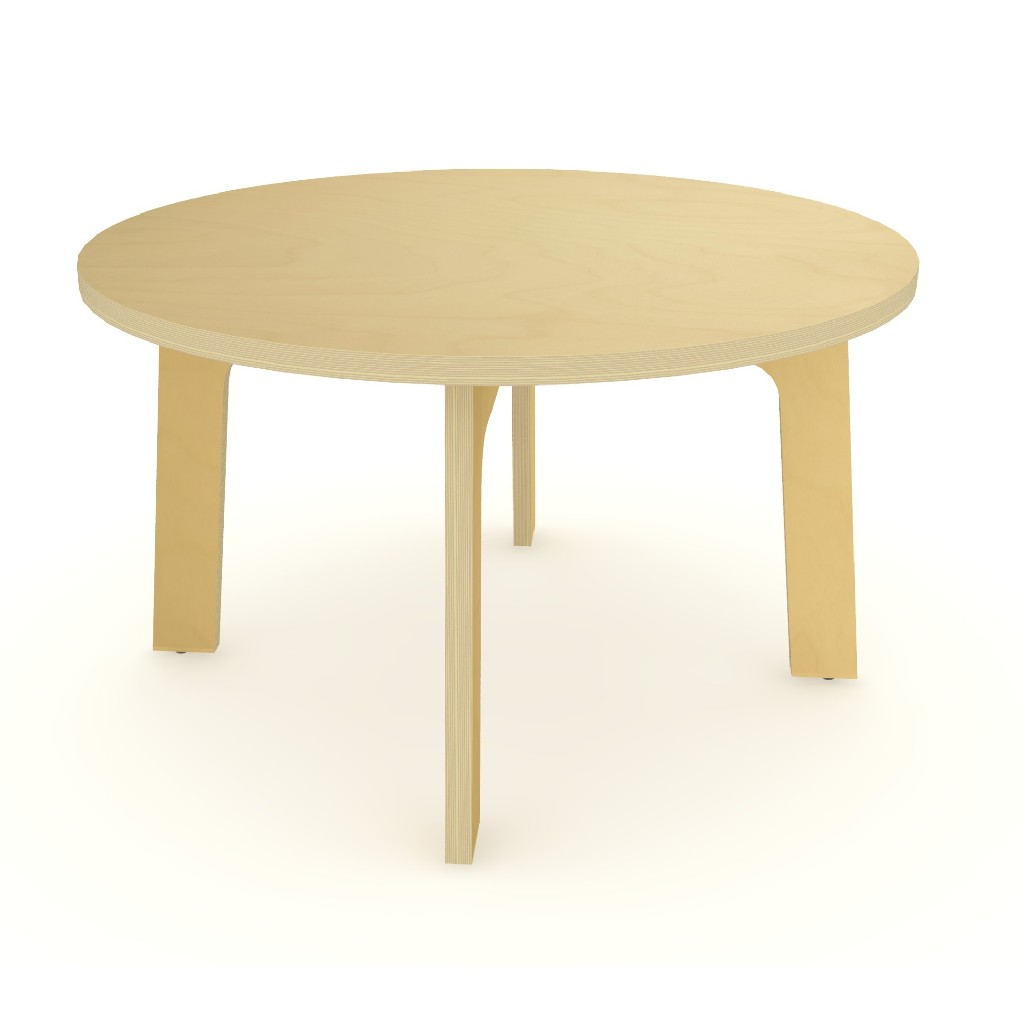 """35"""" Dia Maple Round Table 18"""" High - Whitney Brothers WX3518M"""